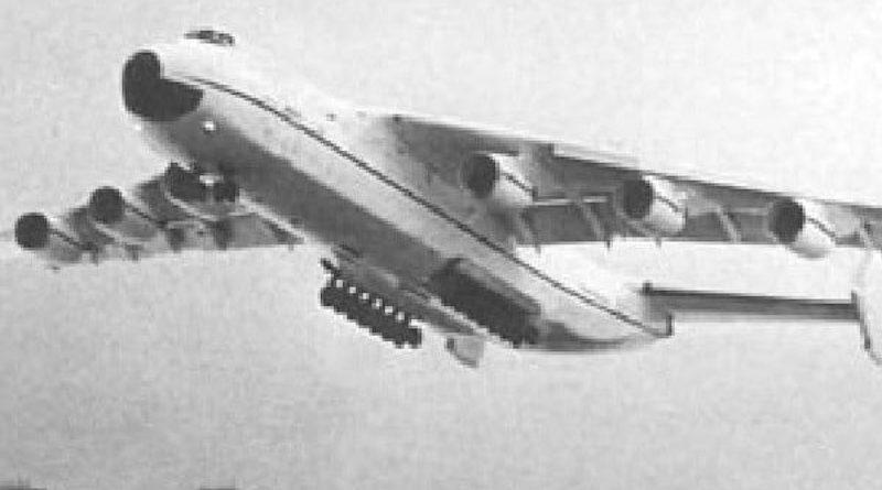 первый полет ан-225 мрия