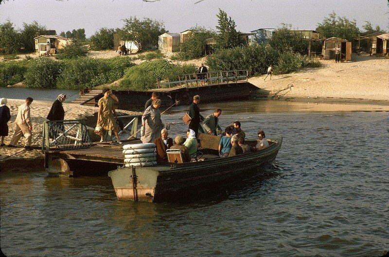 Київ 1964 року на кольорових фото Жака Дюпакье