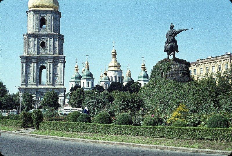 Киев 1964 на цветных фото Жака Дюпакье
