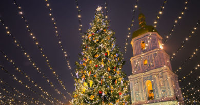 Головна ялинка України одна з найкращих в Європі