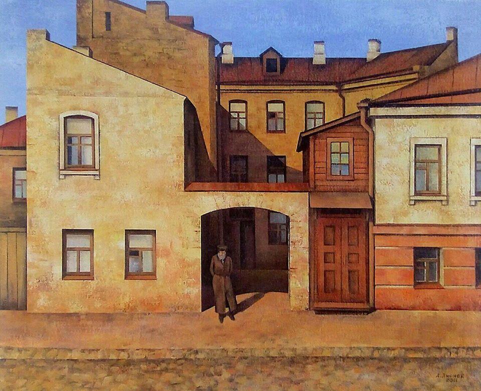 Куточки старого Києва в пейзажах Олександра Лірнера