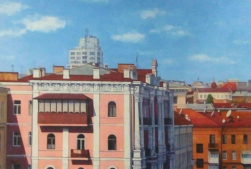Уголки старого Киева в пейзажах Александра Лирнера