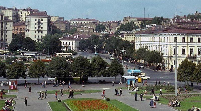 Киев на видео 1955 года