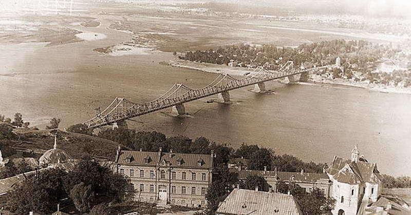 Мост имени Евгении Бош. История Киева