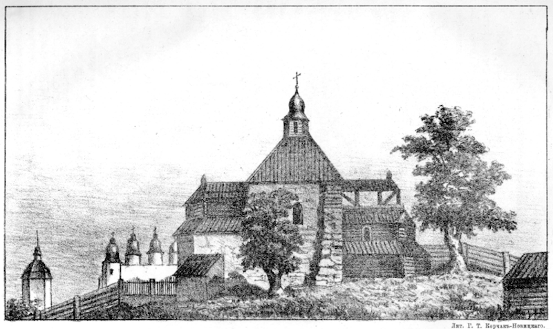 Десятинна церква. Історія