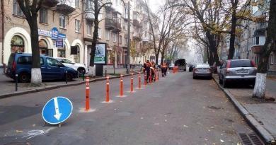 Делінеатори в Києві як «акт відчаю»