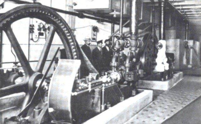 1912р. Холодильна установка Бесарабського ринку.