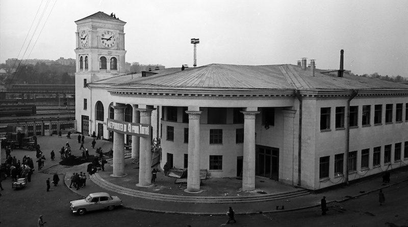 Строительство Киевского метро 1959-1960 годы. Видео