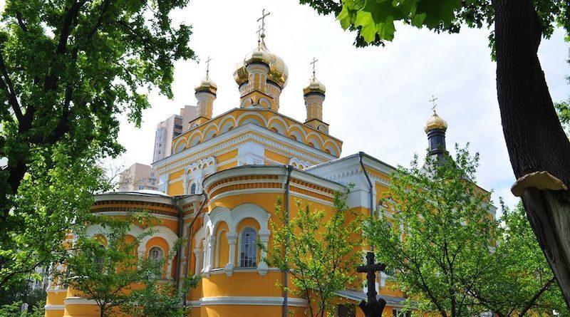 Покровська церква на Солом'янці. Історія