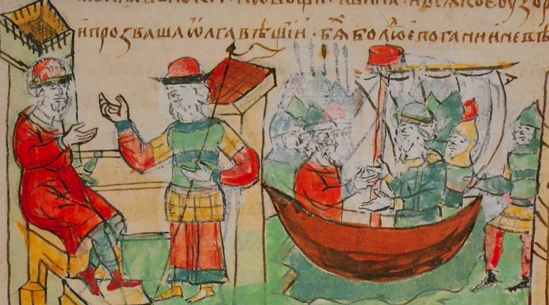 Об основателях Киева