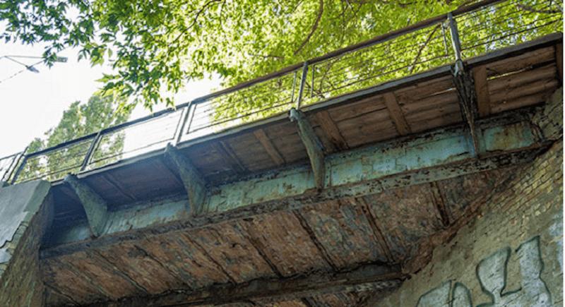 Самый старый Киевский мост - Кудрявский. История