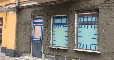 На Подолі знищують фасад історичної будівлі