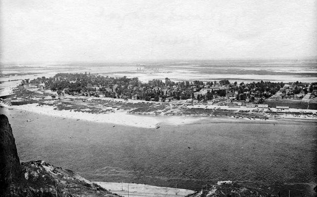 Зниклі селища на Трухановому острові