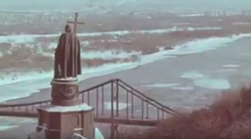 Зимний Киев 1967 года.