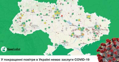 В улучшении воздуха в Украине нет заслуги COVID-19