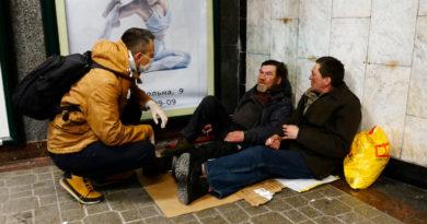 Как живется столичным бездомным в условиях карантина. Видео