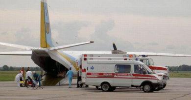У київський госпіталь прибув борт з пораненими, потрібна допомога