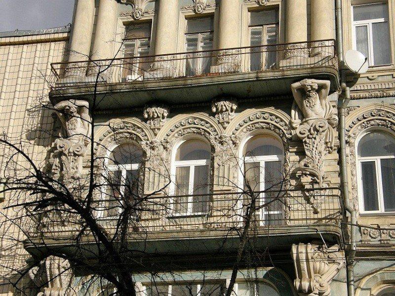 Будинок Гінзбурга. Історія
