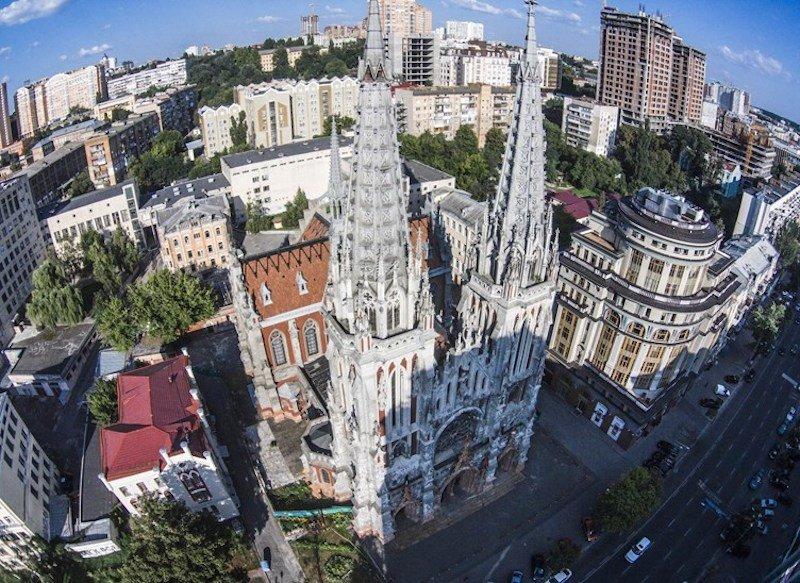 Костел святого Николая. История