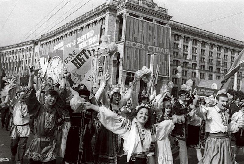первомай 1986 год