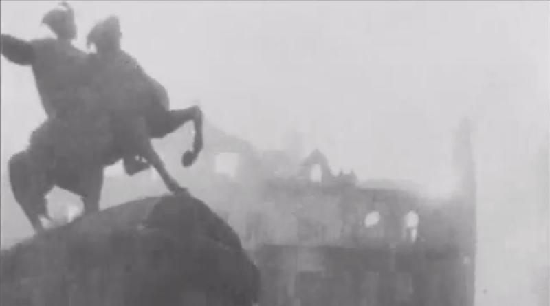 Рідкісні кадри окупації та визволення Києва з кінохроніки 1944 року