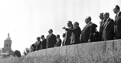 Президент США Ричард Никсон в 1972 году в Киеве. Кинохроника