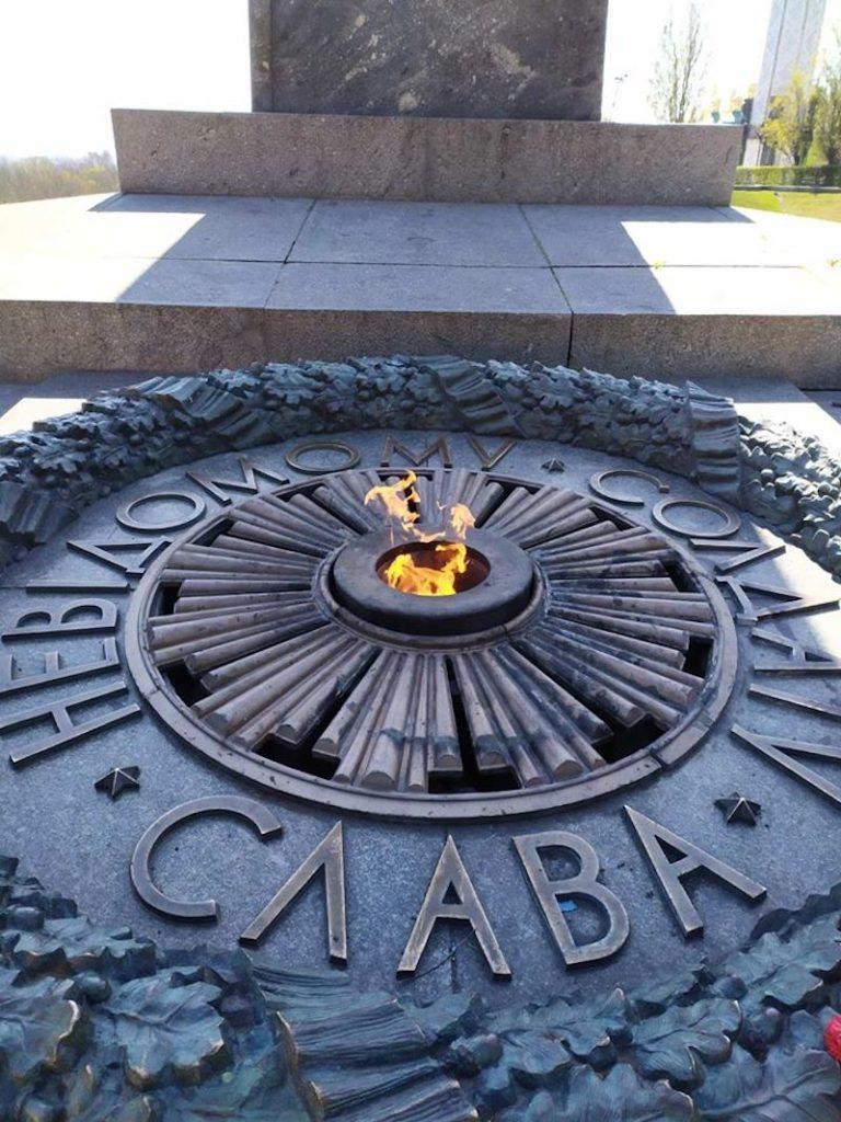 В столиці відновили роботу Вічного вогню