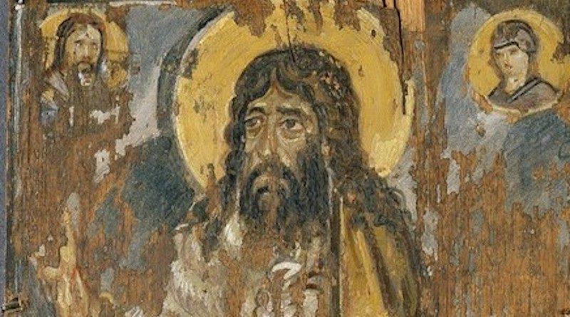 Древнейшая икона пророка Иоанна Предтечи