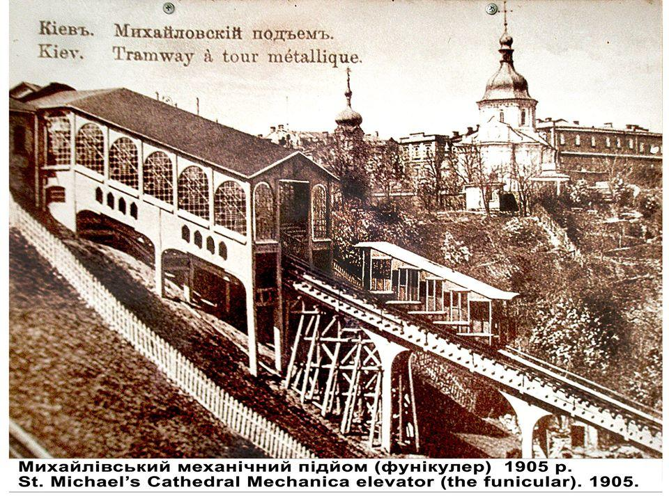 Киевский фуникулер. История