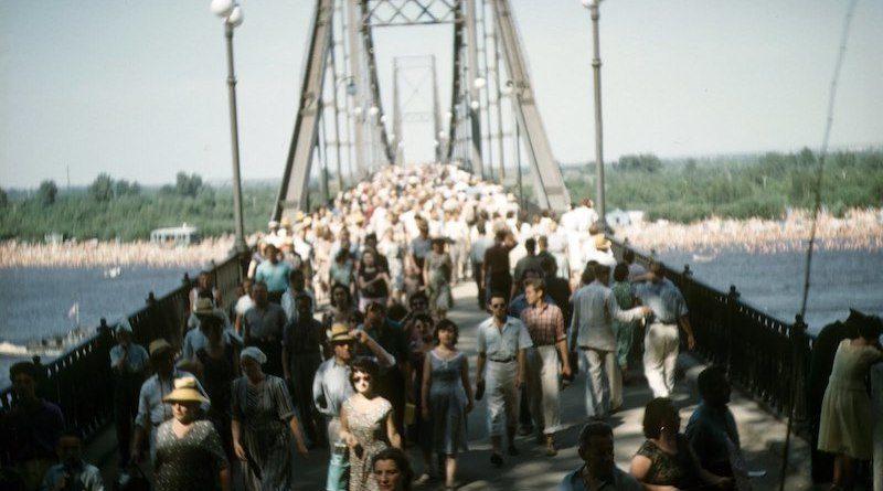 Киев 1958 года на фото журналиста из США