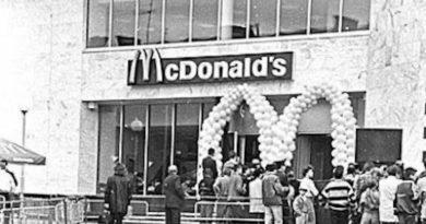 Перший McDonalds в Києві
