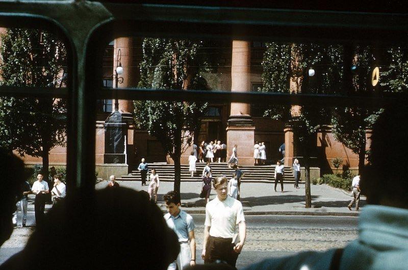 Київ 1958 року на фото журналіста з США