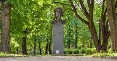 Памятник Анне Ахматовой