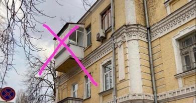 Київська архітекторка розісклила власний балкон в історичному будинку. Фото