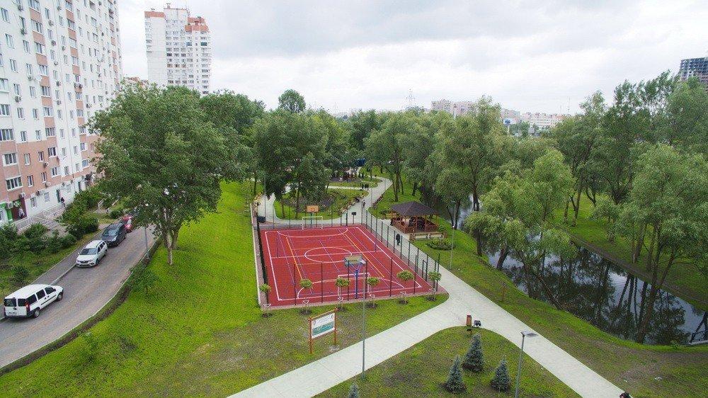 Віталій Кличко розповів про те, як у Києві оновлюють парки і показав відео з парку «Троєщина»