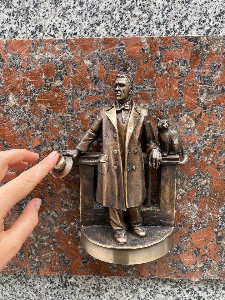 """26 міні-скульптурка проекту """"Шукай"""" - Михайло Булгаков"""