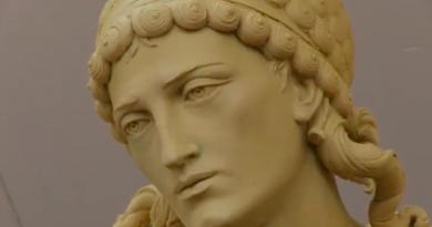 Розпочався фінальний етап робіт із виготовлення скульптури Архистратига Михаїла. Відео та фото