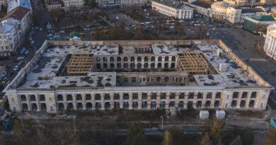 Фонд держмайна України відмовляється проводити термінові протиаварійні роботи на будівлі Гостиного двору