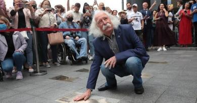 В Києві з'явилась зірка художника Івана Марчука