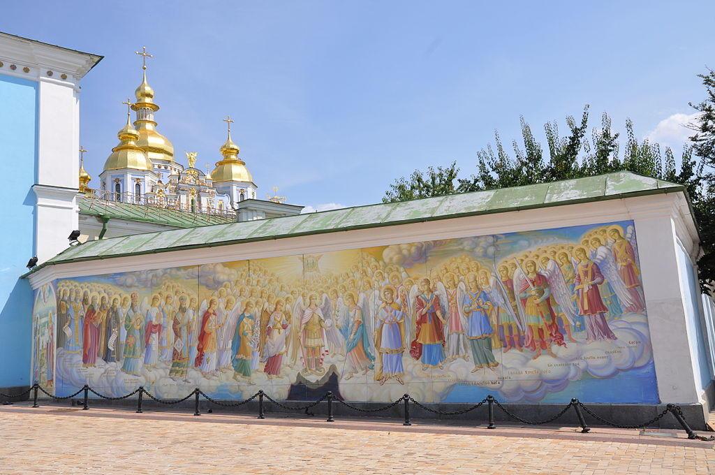 Михайловский Златоверхий монастырь. История