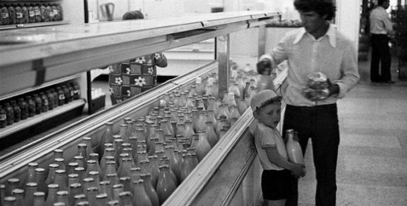 Как выглядел один из первых супермаркетов советского Киева. Универсам №3 на Облони