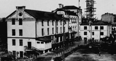 Исчезнувший киевский молочный завод №1