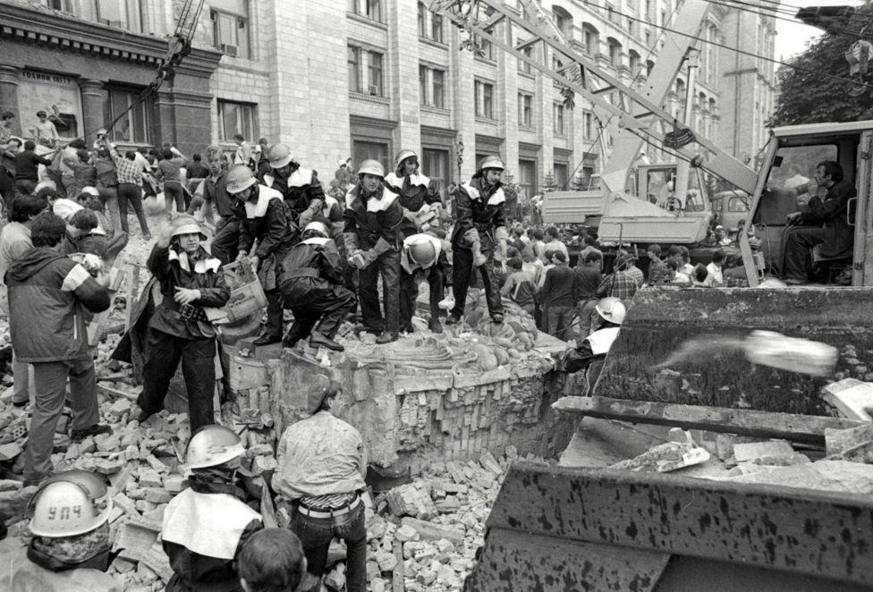 Трагедия на Киевском главпочтамте