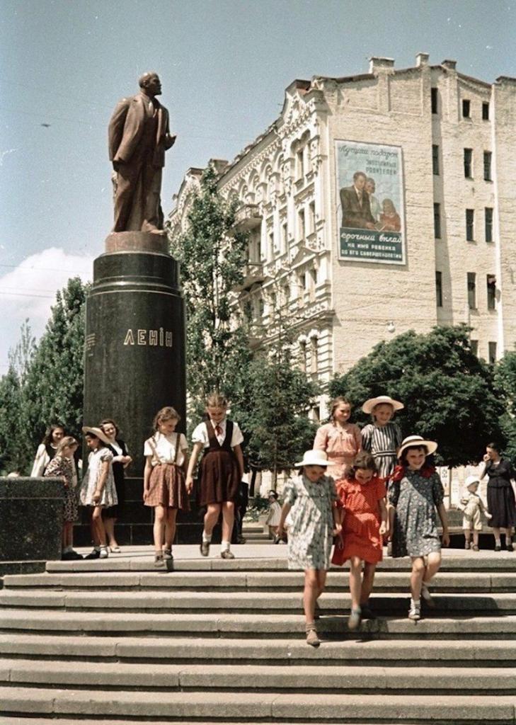 Киев и киевляне на фото Семена Фридлянда