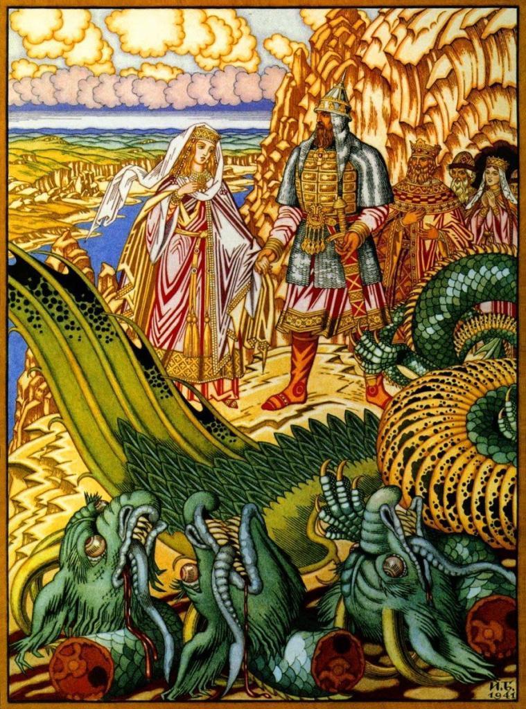 Змей Горыныч. Легенды древнего Киева