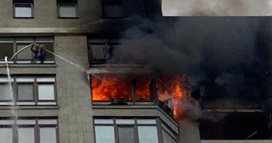У столиці горіла квартира на 24 поверсі: загинув чоловік. Відео
