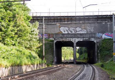 Метромост между станциями «Нивки» и «Берестейская»