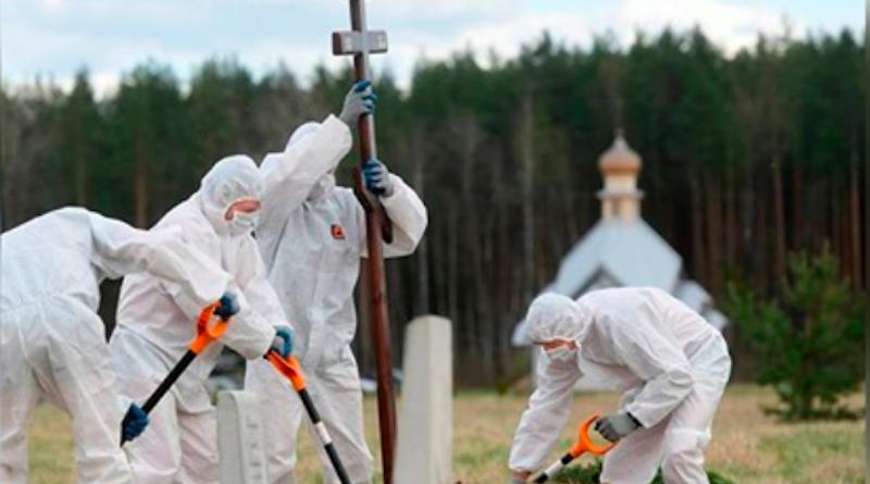 Як у столиці ховають померлих від коронавірусу