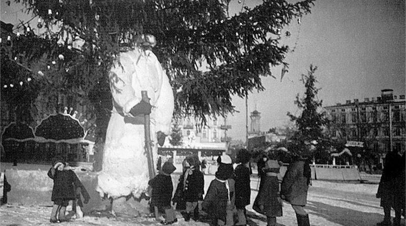 киевские елки разных лет