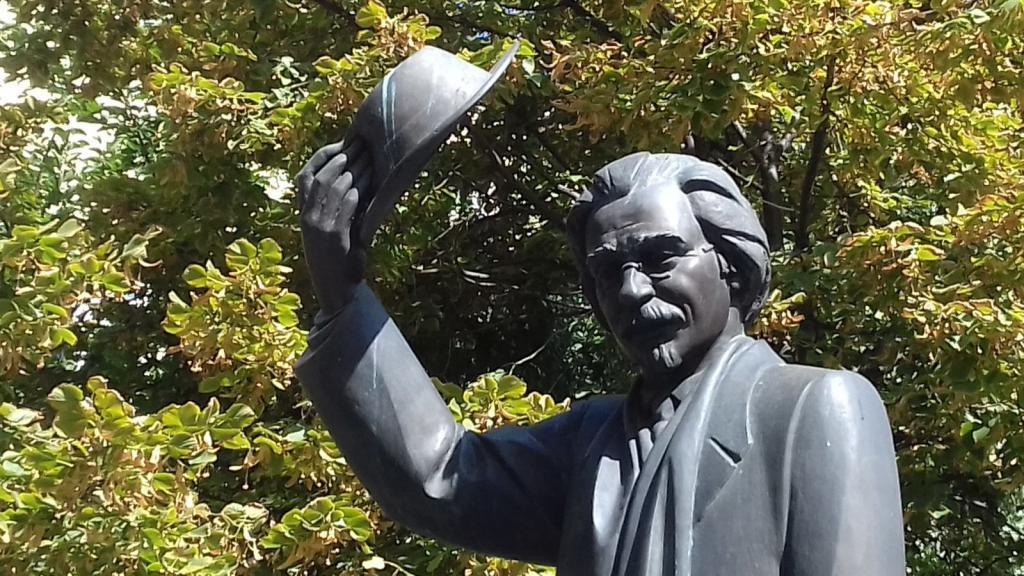 Памятник Шолом-Алейхему. История